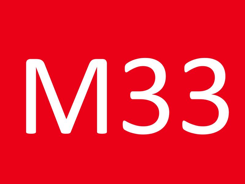 Болты М33