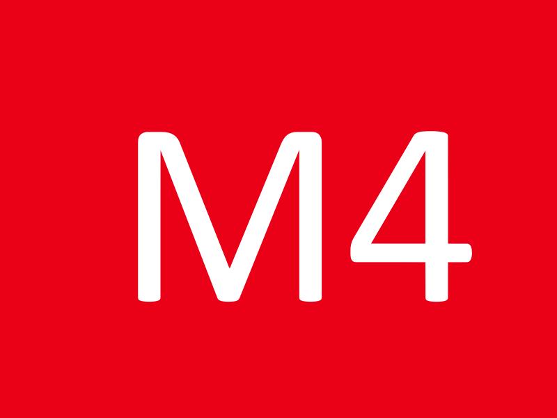 Шайбы М4