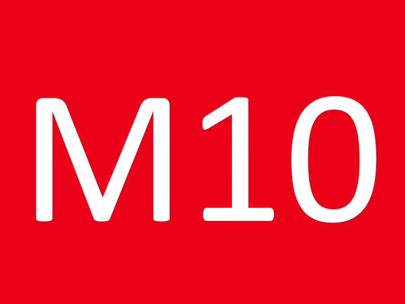 Шайбы М10
