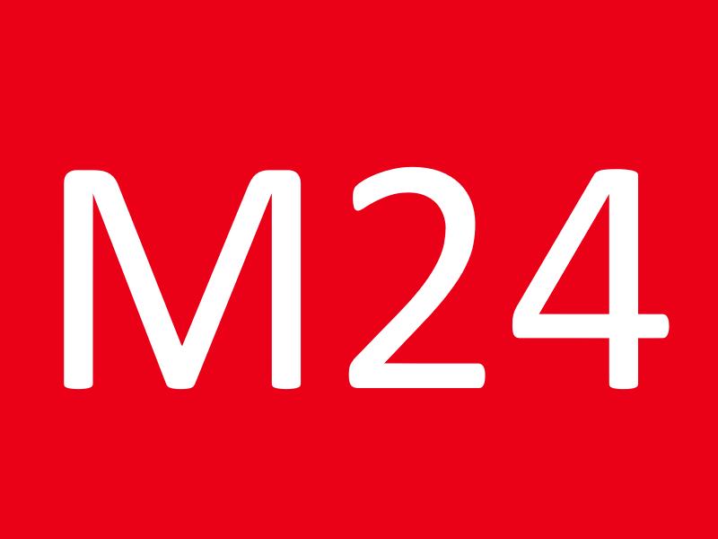 Гайки М24