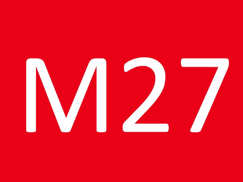 Болты М27