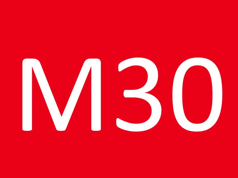 Гайки М30
