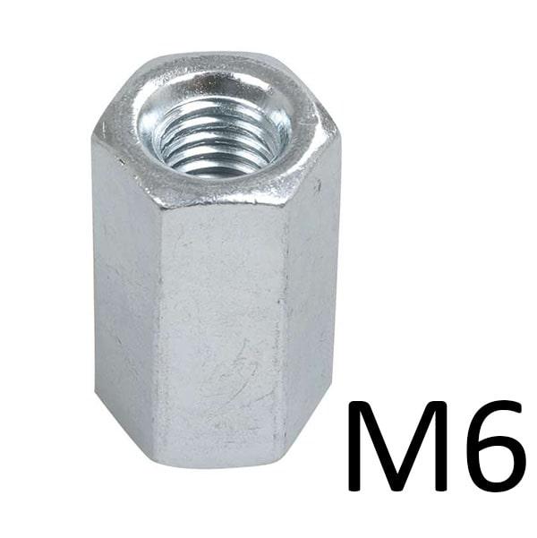 Гайки соединительные M6