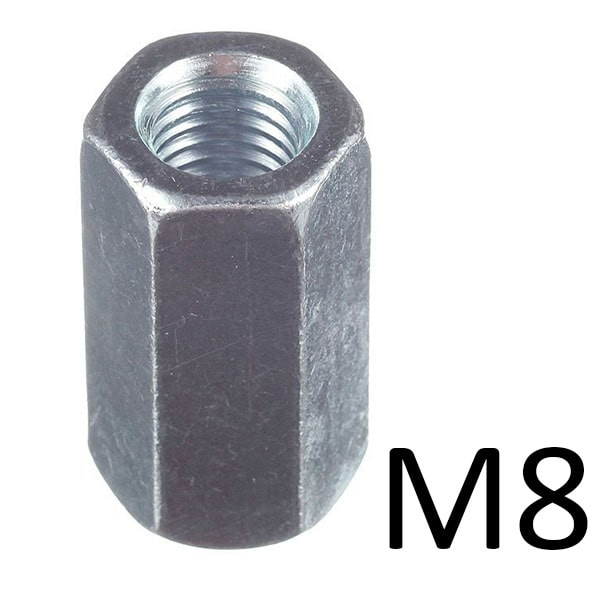 Гайки соединительные M8