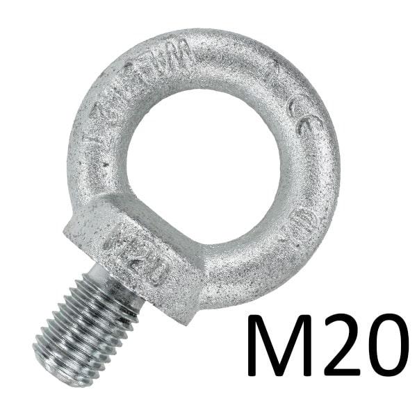 Рым-болты М20